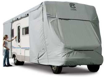 travel trailer cover installation