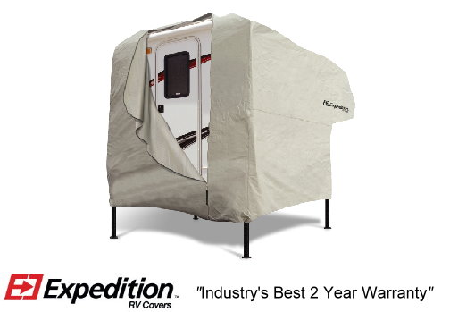 Truck Camper RV Cover Image 1