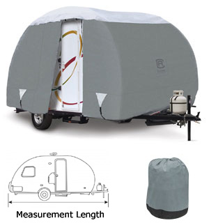 Teardrop Trailer RV Cover Image 3